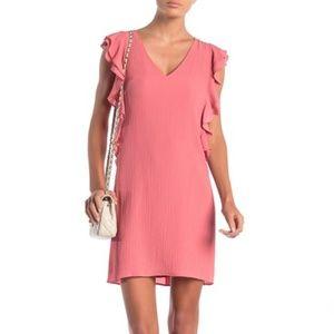 Kennedy Ruffle Sleeve Shift Dress